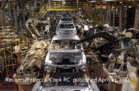 Ford Mustang Production line The Atlantic Reuters/Rebecca Cook