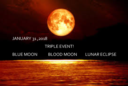 Super blue blood moon Google Images text overly MS Publisher