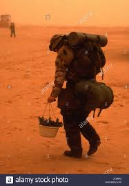 A Soldier in the dessert of Iraq or Afghanistan. Almay Stock Photo Google Images