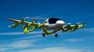 Cora the flying taxi of Kitty Hawk in New Zealand. Google Images