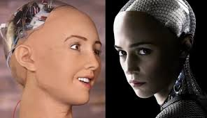 Different faces of Sophia developed by Hanson Robotics. Google Images