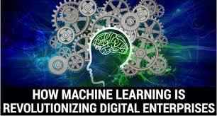 Machine Learning Disrupting Digital Enterprises Google Images