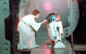 Princess Leia with R2D2 Google Images